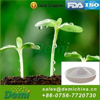 Sap Hydrogel Potassium Polyacrylate for Plantation Agriculture