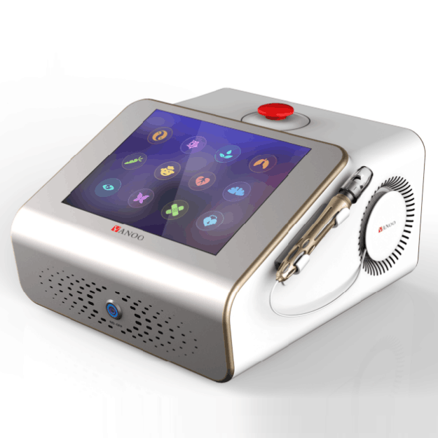 TUV ISO13485 APPROVAL red vein removal blood vessel removal 980nm diode laser beautymachine