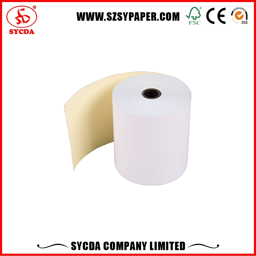 SZSY professional company carbonless invoice roll image in sheets