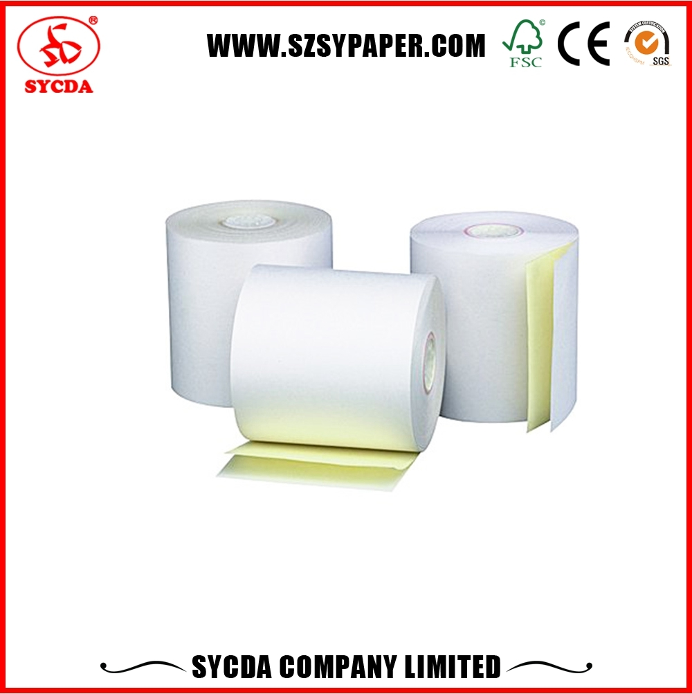 Manufacturer competitive price banknotes NCR 2 ply colored image copy paper