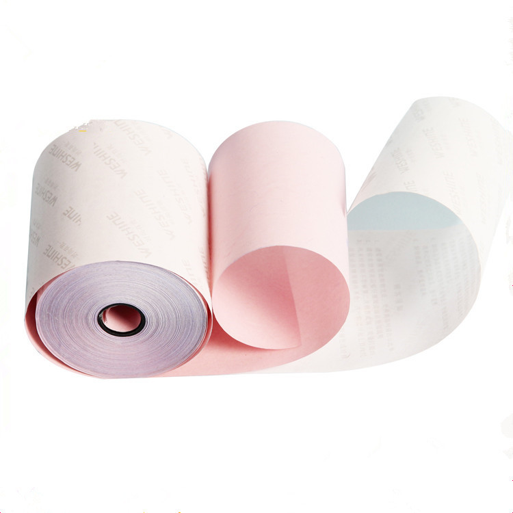 2 Part Carbonless Paper Rolls Yellow NCR Rolls