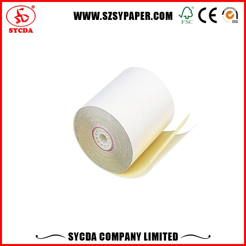 Manufacturer competitive price banknotes carbonless copy paper with 3 sheets