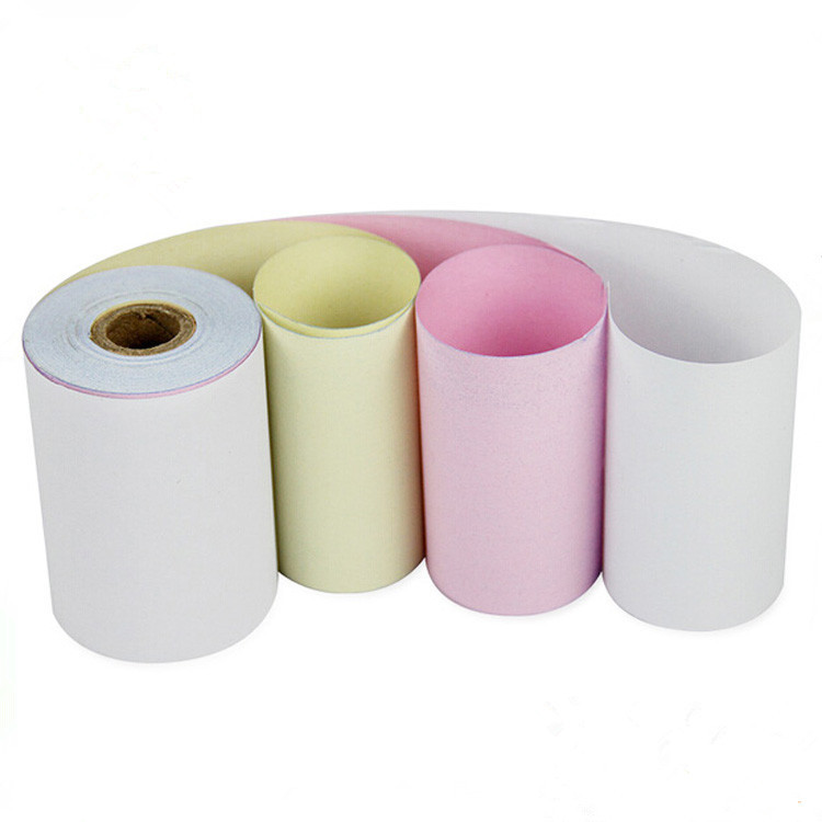 2016 most popular roll carbonless roll custom printing Carbon-less Computer Printing Copy Paper
