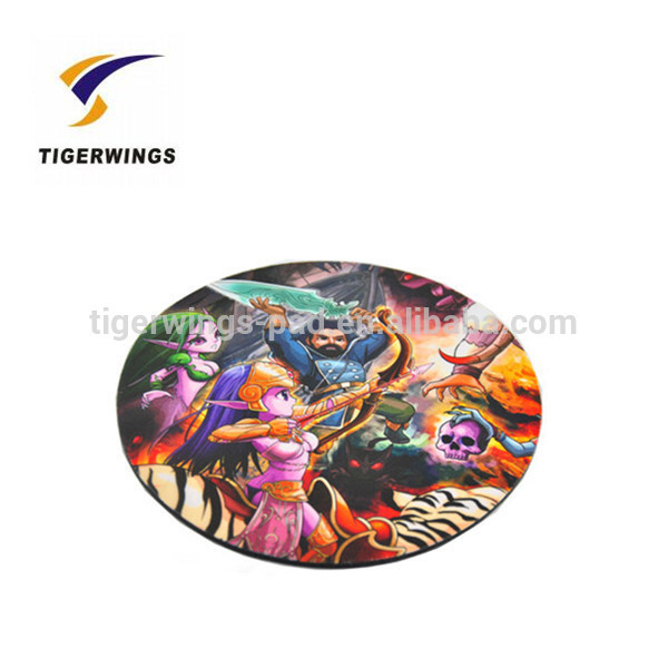 2016 popular Tigerwings factory wholesale cardboard drink moon coasters for wedding gifts