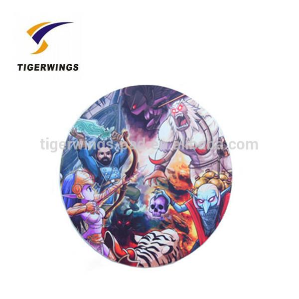 Tigerwings customizedround cardboard drink coasters