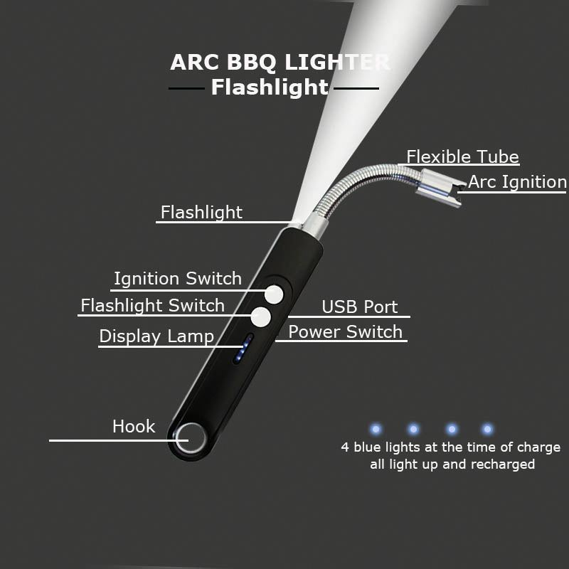 High Quality Custom Lighter Chargeable Design