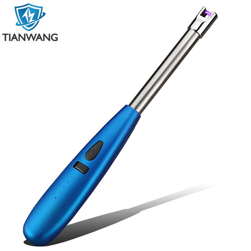 Electric Arc Lighter, Lighters Long Flameless Lighters with Flexible Tube LED Battery for Candles Camping Cooking BBQ