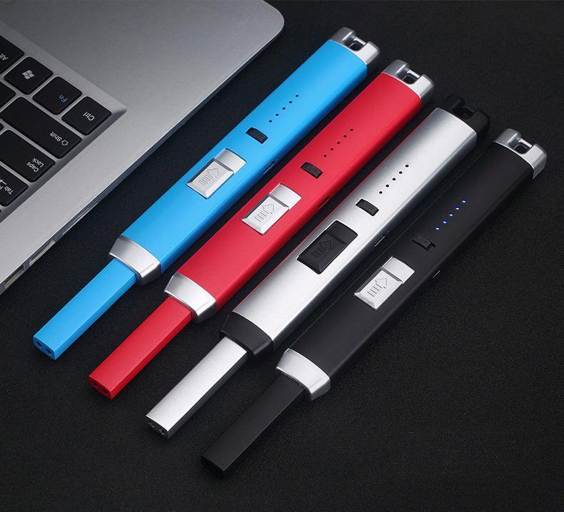 metal match lighter , cheap custom metal lighter/USB Charging Lighter