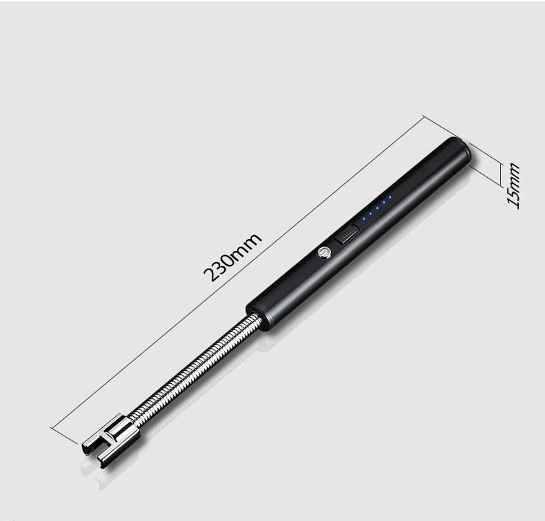 2019 hot new barbecue arc lighter long usb electric bbq lighter