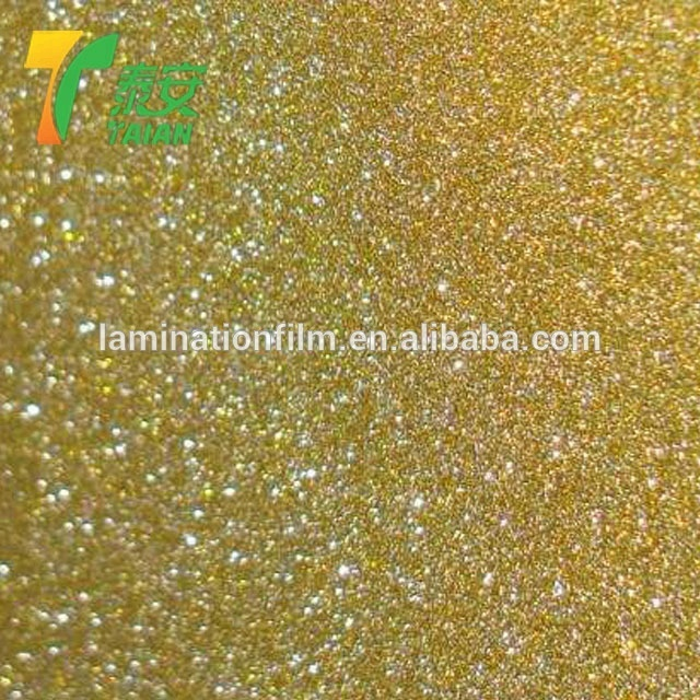 Colorful Iridescent Thermal Lamination Film Hologram Glitter Thermal laminating Film For Packing Material