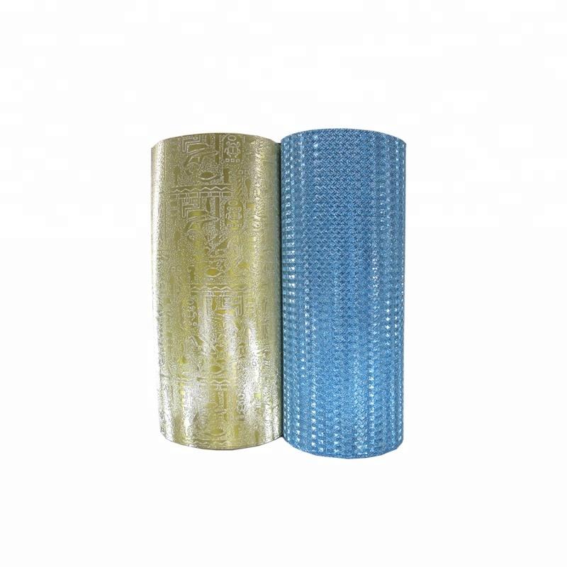 Heattransparent laminating glitter shining thermal lamination film