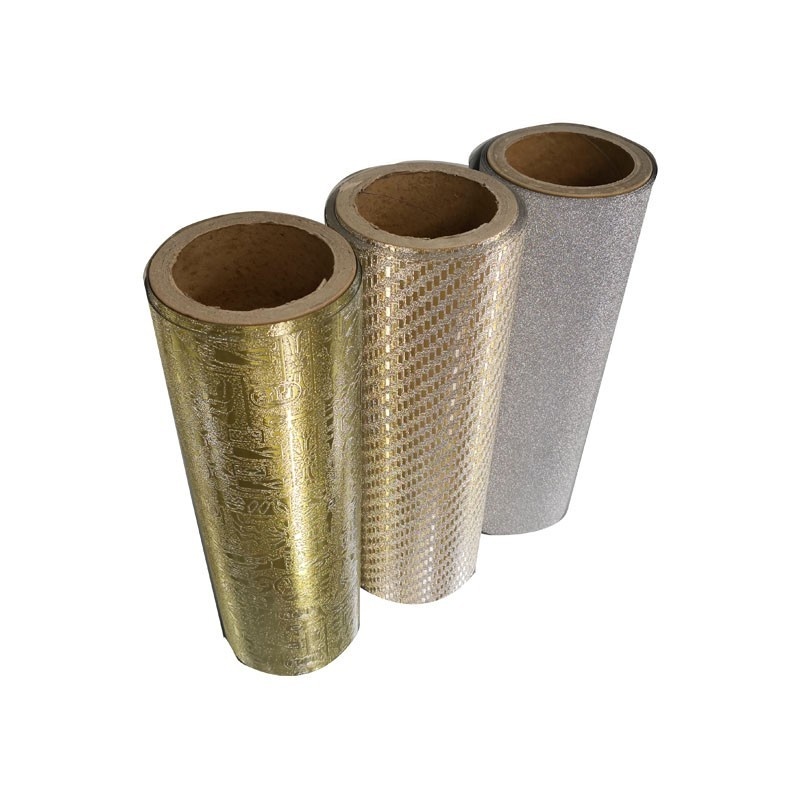 Sparkle brite glitter plastic film roll for packaging