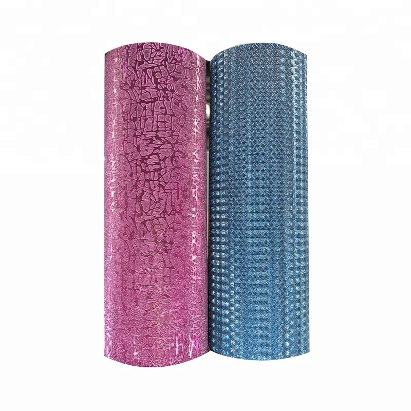 Factory Price Various Colors 110mic PP Glitter thermal lamination Film