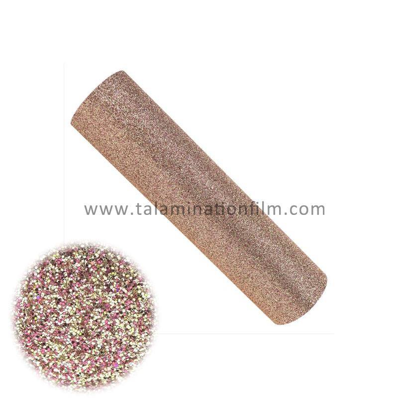 Colorful flash-powder glitter Fashionable Design lamination film for packing gift