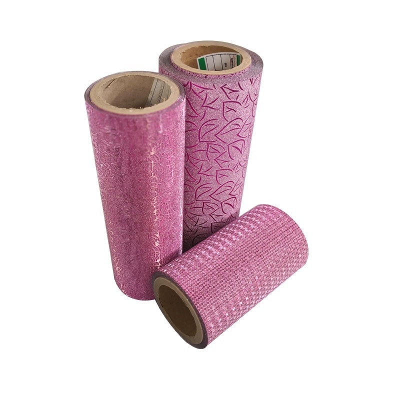 glitter powder bopp cpp laminate film Thermal Lamination Film Glitter Thermal laminating Film For Packing Material