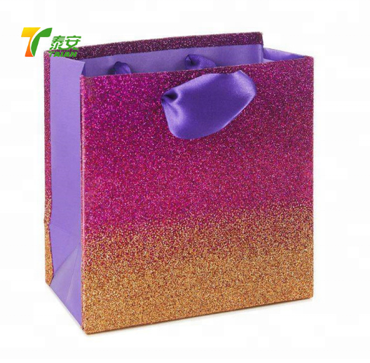 Different colors Glitter thermal lamination film for box and bag