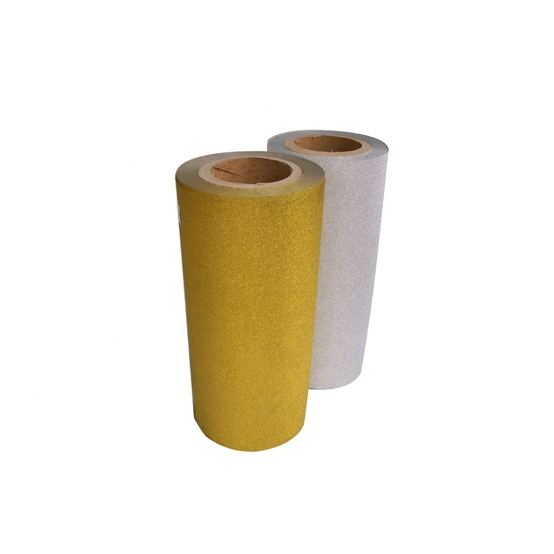 Hot Lamination Sparkle Metalized Film Glitter Adhesive Film for Paper