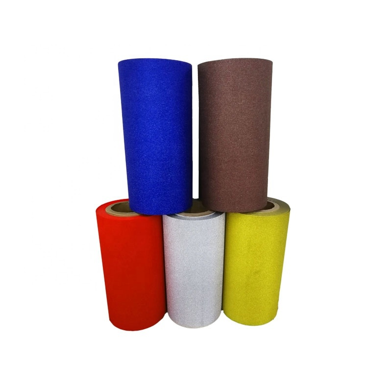 Factory Price Flower Wrapping Paper Square Lattice Glitter Plastic Film for Florist Multicolor Wrapper
