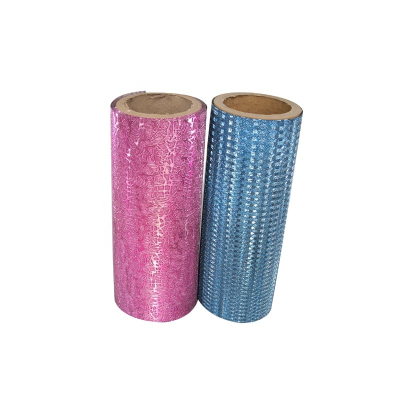 customized design love glitter film roll, glitter thermal lamination film