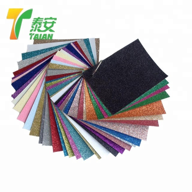 cold laminating sparkling film, thermal coated sandy feeling glitter lamination film