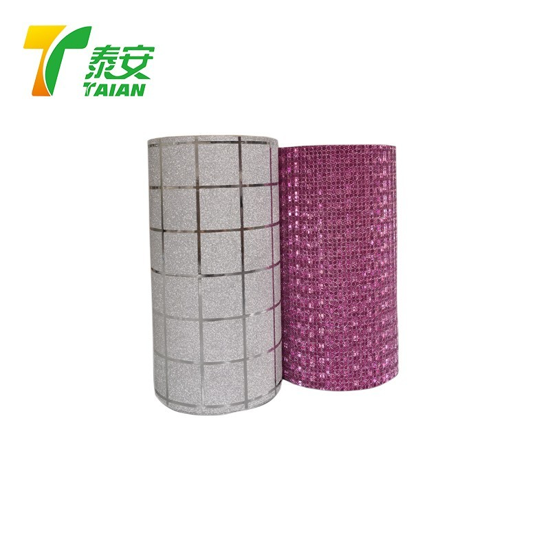 China Factory Luxury packaging box or bag used Iridescent Glitter Film