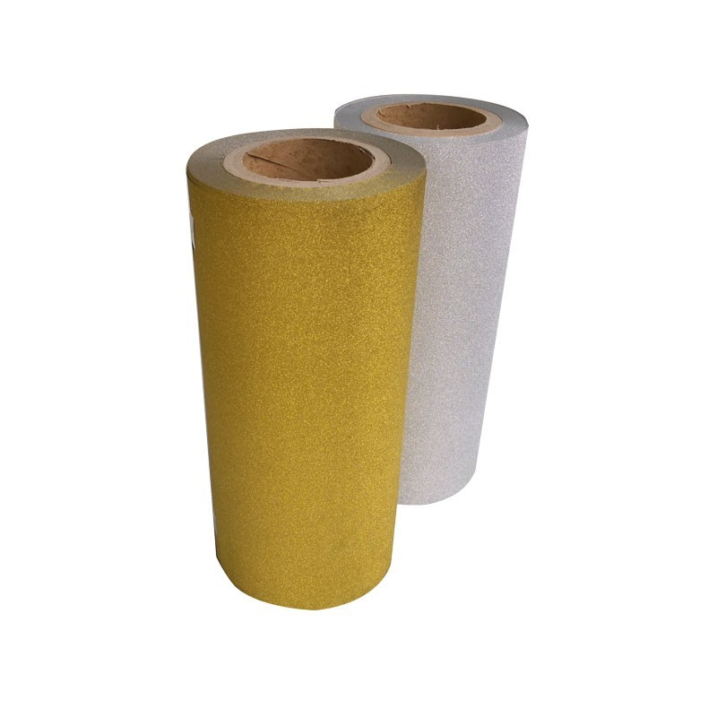 PP Glitter Customized Gold Thermal Lamination Film CPP Laminating Film