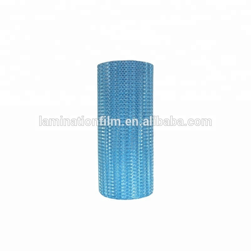 Hot Melt Glue Glitter Thermal Laminating Film Jumbo Roll Glitter Hot Laminating Film for package box