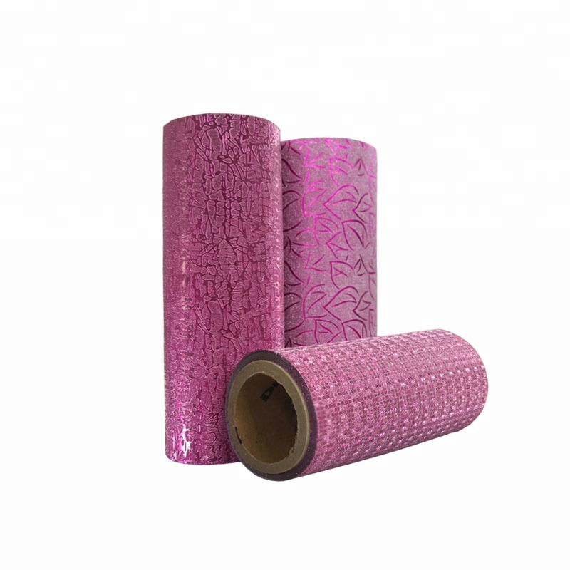 China's supply Colorful PP glitter thermal lamination film for packaging