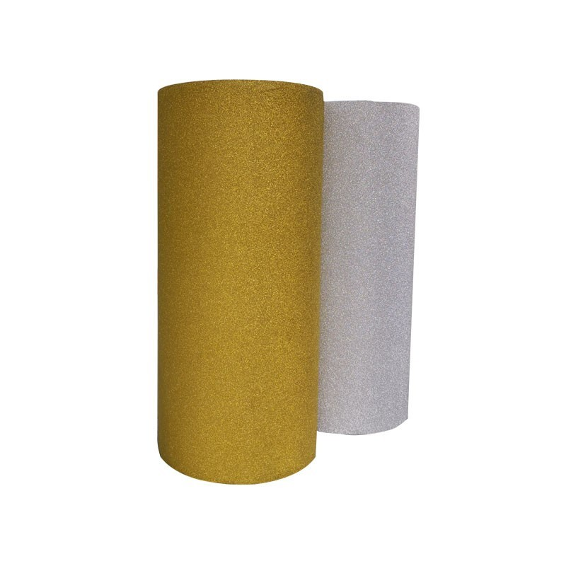 Factory Price 90microns transparent PP Glitter thermal lamination Film