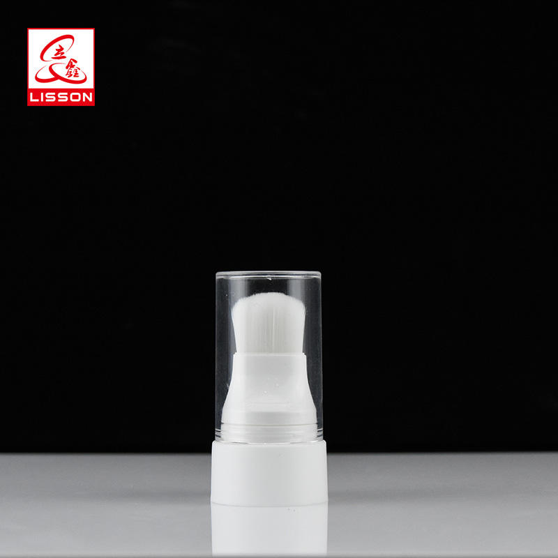 Hot sell 60ml PE cosmetic packaging tube with screw cap for fancial cleanser