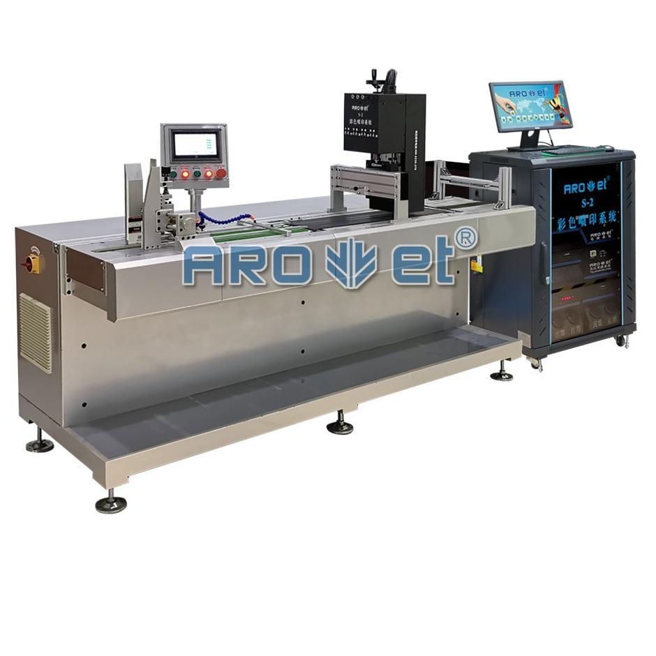 Cmyk Full Color Digital UV Inkjet Printer for KN95 and Kf94 Mask