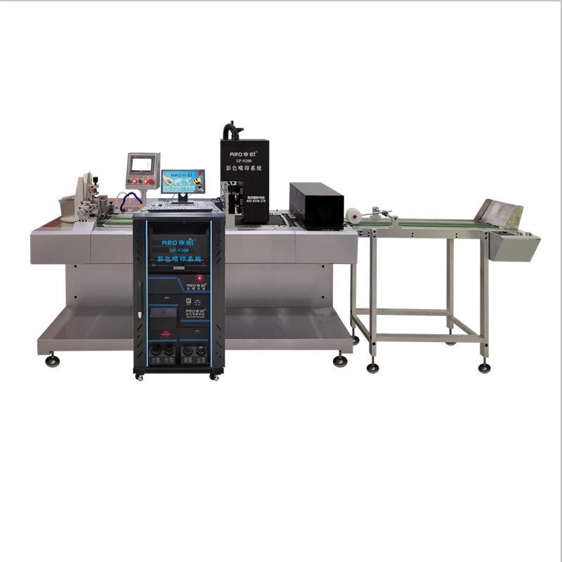 Cmyk Full Colour Tags Printing Machine
