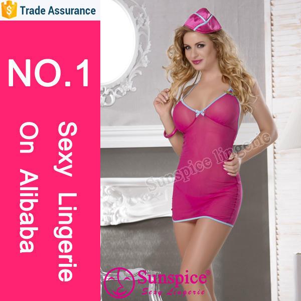 Best price sexy air hostess fancy dress costume