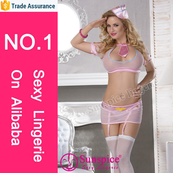 Sunspice lingerie Halloween costume womens transparent underwear