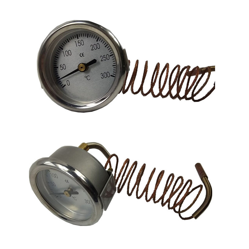 oven thermometer with capillary tube industrial usage capillary thermometer water heater thermometer