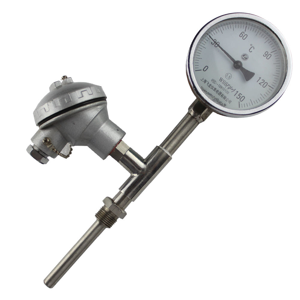 bimetal thermometer temperature sensor