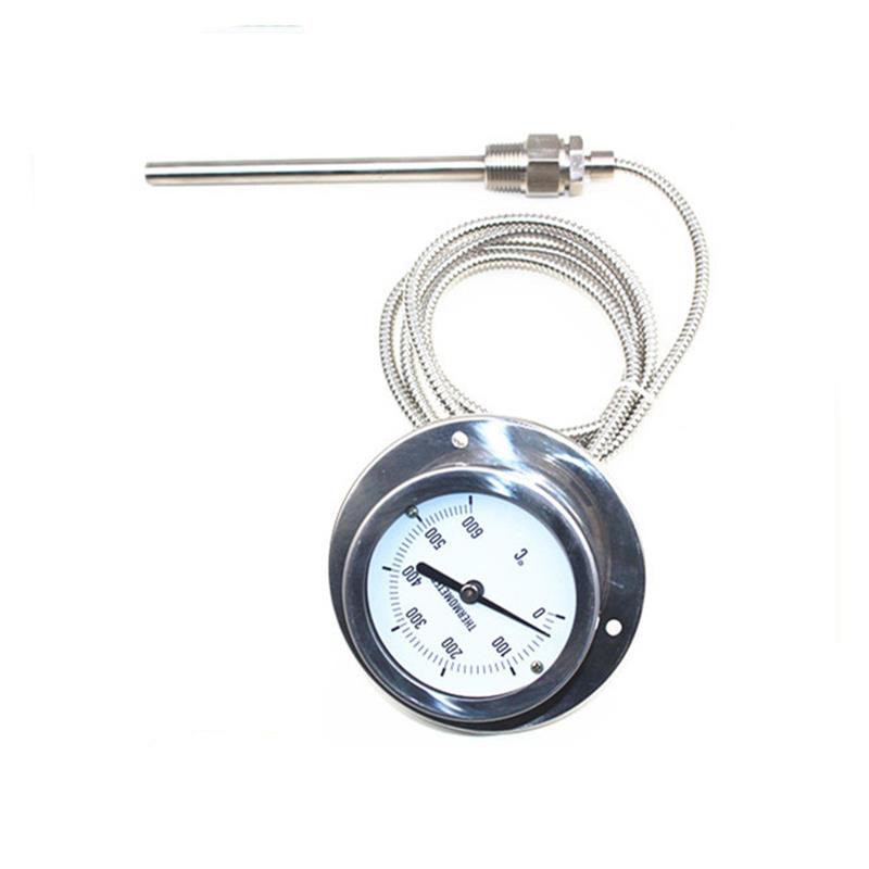 competitive price boiler furnace use oil filled thermometer pressure type temperature gauge