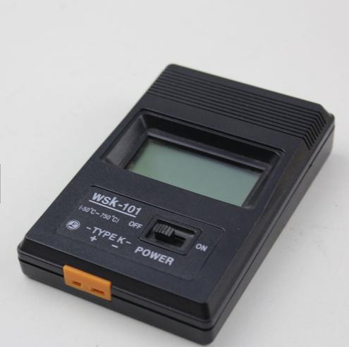 K Type Digital LCD Thermometer Temperature Single Input Pro Thermocouple Probe detector Sensor