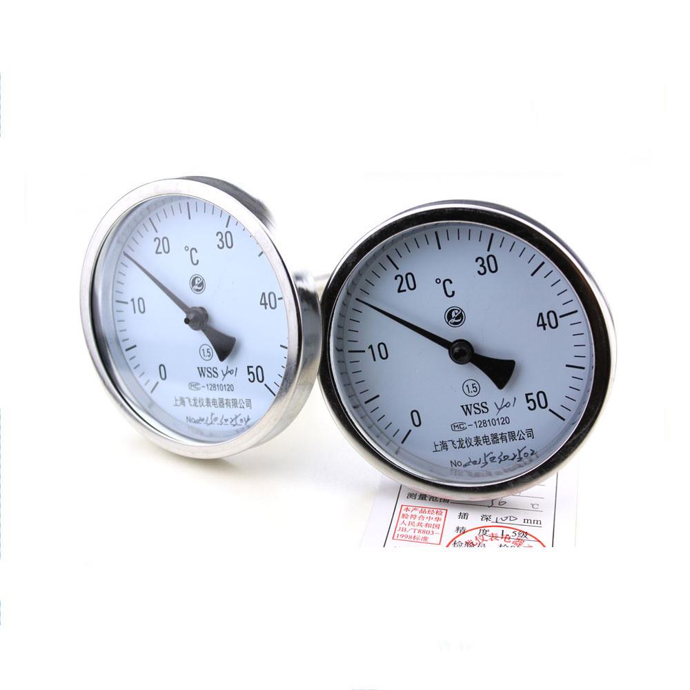 bimetal thermometer temperature gauge