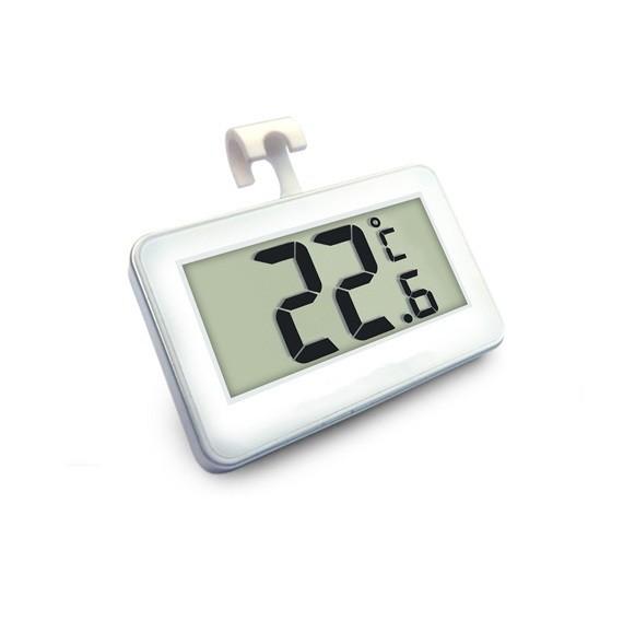 Digital Refrigerator Freezer Room Thermometer White fridge thermometer