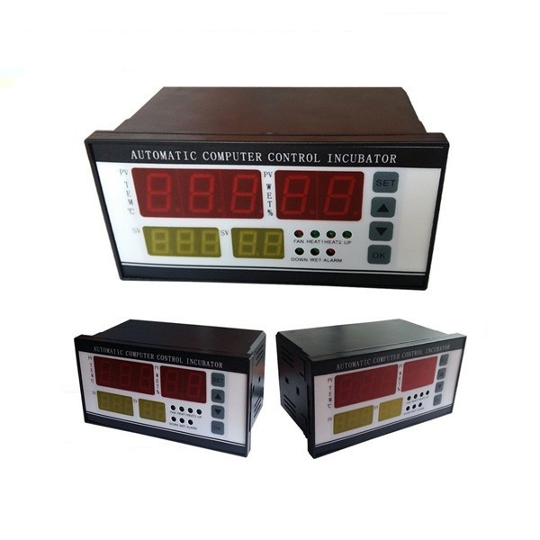 XM-18 temperature controller for egg incubator with temperature and humidity sensor