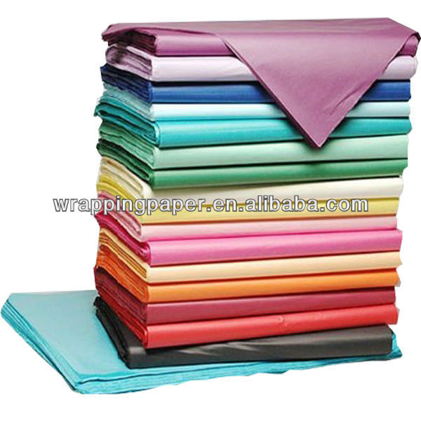 17gsm MF solid color decorative wrapping tissue paper