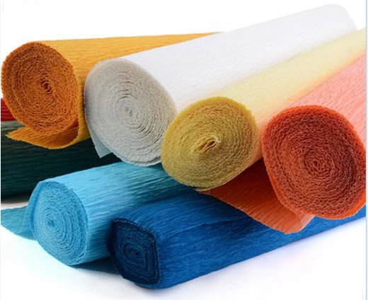 Wholesale Custom Design Crepe Paper gift Wrapping Paper