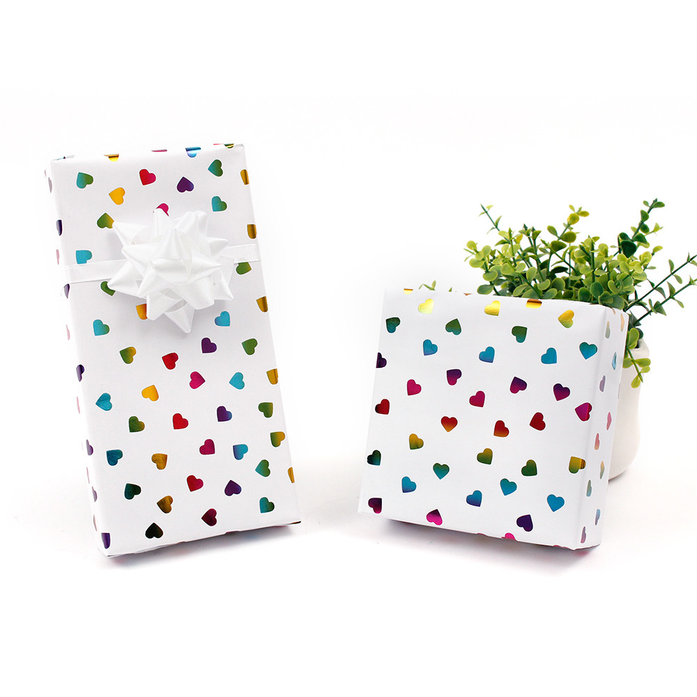 Wrapping Tissue Paper in polkaColor Accept Custom Printed Logo