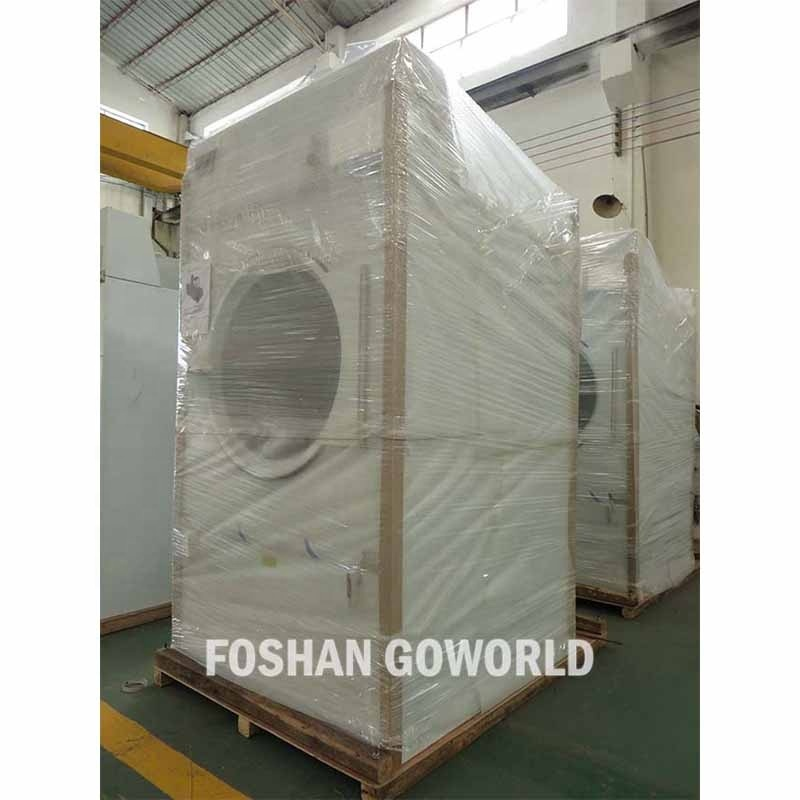 100kg steam heating industrial washing machine and dryer