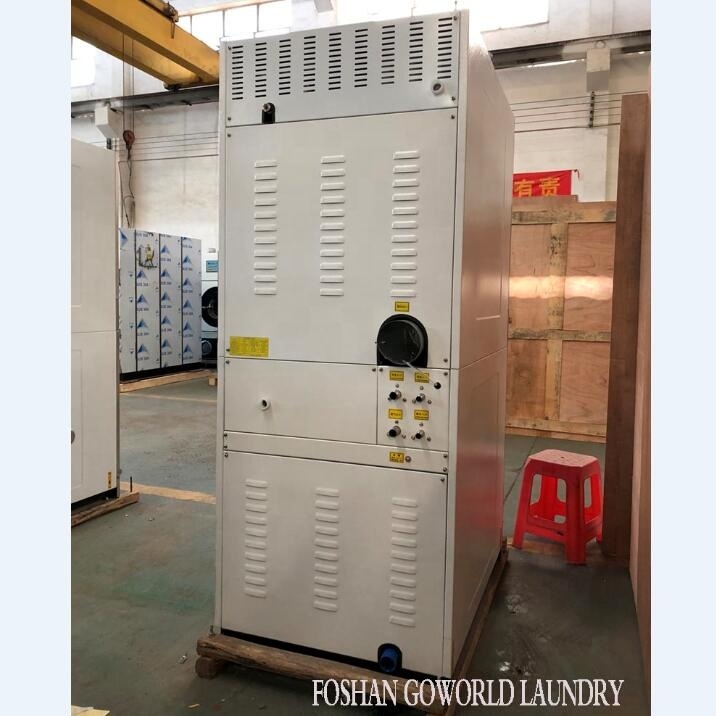 10kg gas heating laundry equipment-combo washer and dryer machine