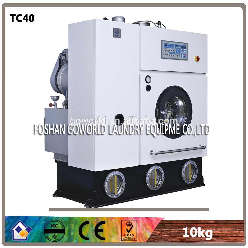 10kg electric heating dry cleaning machine-laundry machine