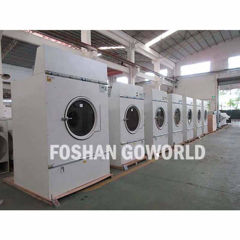 100kg steam heating industrial washing machine and dryer