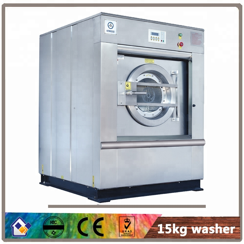 15kg steam heating laundry shop equipment(washer,dryer)