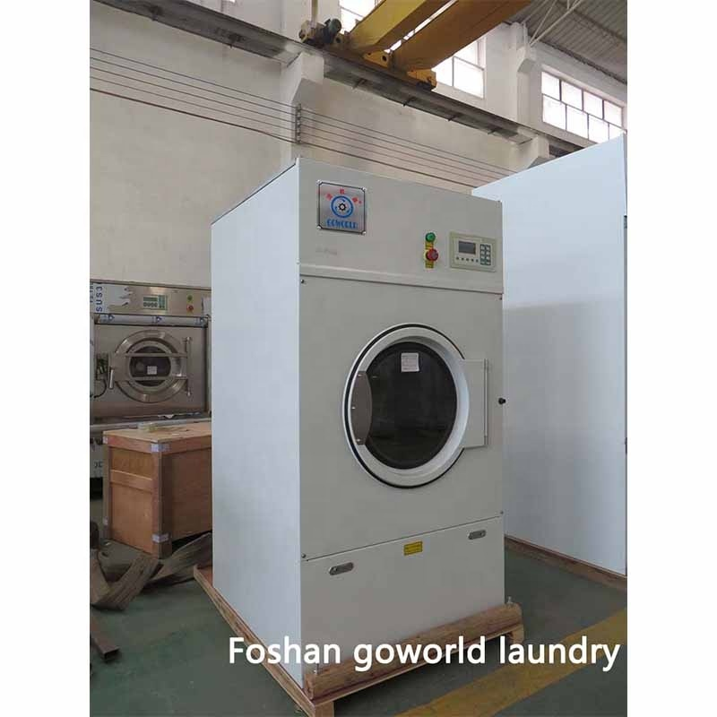 12kg electric heating laundry washing machine and dryer-coin dryer